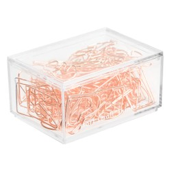PAPER CLIPS 60PK ASSORTED SHAPES ROSE GOLD: OWN YOUR DAYS