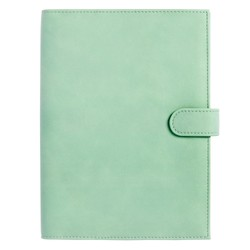 A5 SOFT TOUCH NOTEBOOK HOLDER THYME: SIGNATURE EDITION
