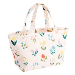 CANVAS LUNCH BAG BLUSH: SLOW