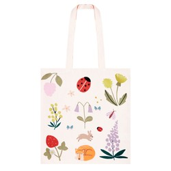 CANVAS TOTE BAG BLUSH: SLOW