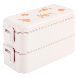 STACKABLE LUNCH BOX WHITE: SLOW
